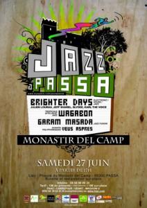 Affiche du festival Jazz à Passa
