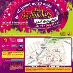 Programme des jeudis de Perpignan 2009