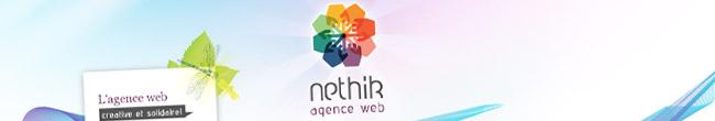 Bandeau du Site Agence Web Nethik