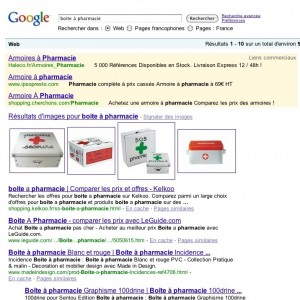 """Résultats de recherche google pour l'expression """"boite à pharmacie"""""""