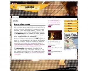 Site internet de Jazzapassa