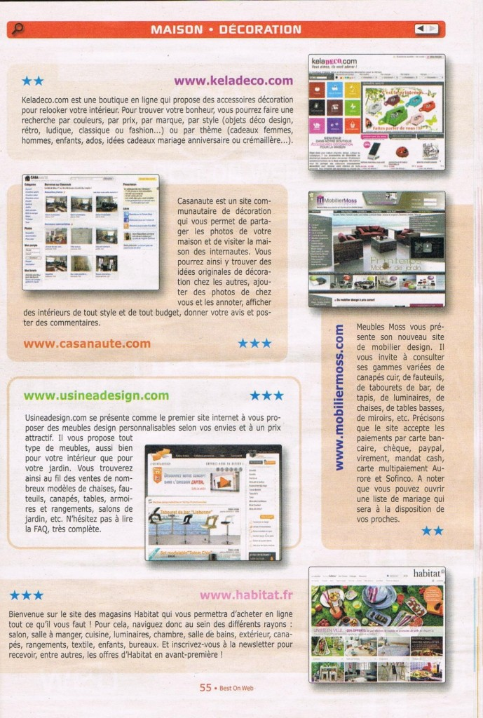 BEST ON WEB- JUIN 2010-keladeco