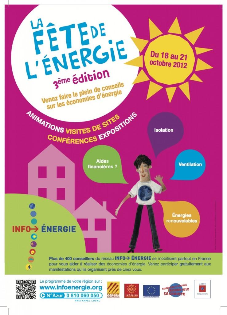 Affiche-Fête de l'énergie 2012